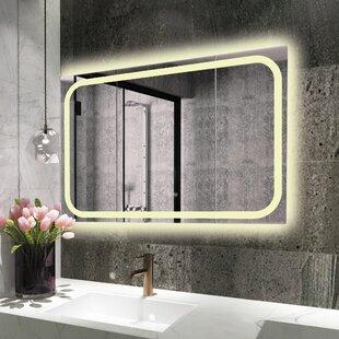 Shopping for Bode Back Lit LED Daylight Bathroom Mirror ByOrren Ellis