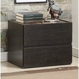 Ewell 2 - Drawer Nightstand in Espresso by Ivy Bronx