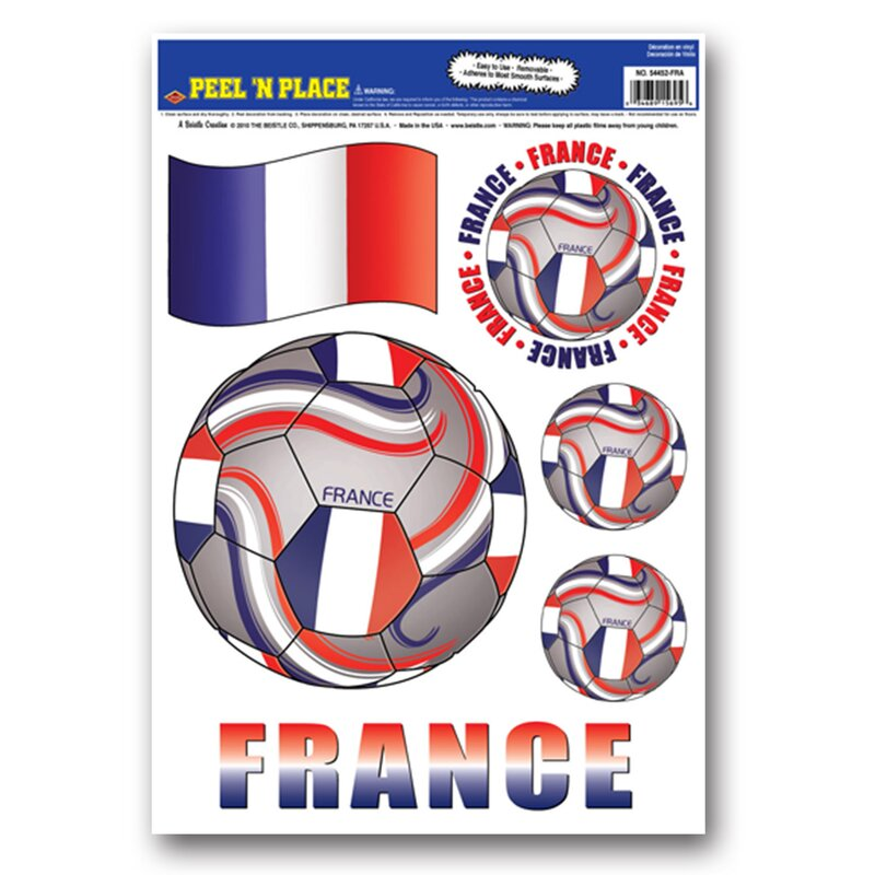 Peel and Place International Soccer Ball