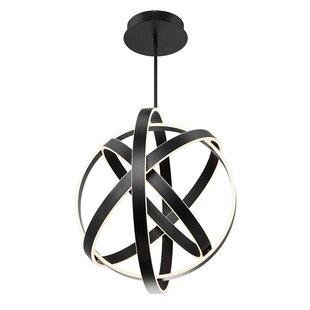 Modern Forms Kinetic 1-Light LED Globe Chandelier