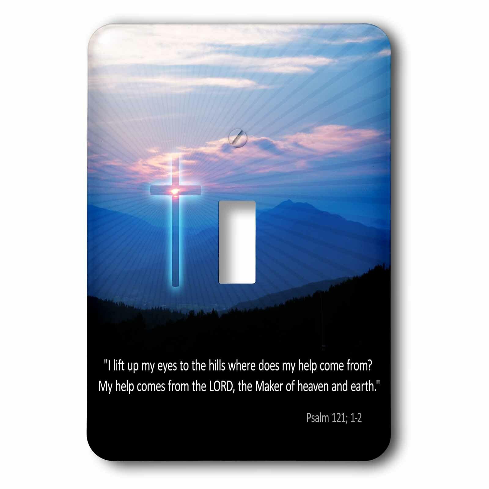3drose Christian Inspirational Psalm 1 Gang Toggle Light Switch Wall Plate Wayfair