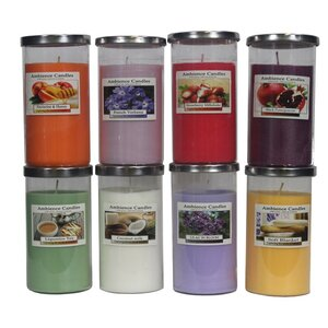 Glass Jar Scent Candle