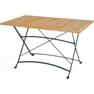 Review Moorpark Folding Teak Dining Table