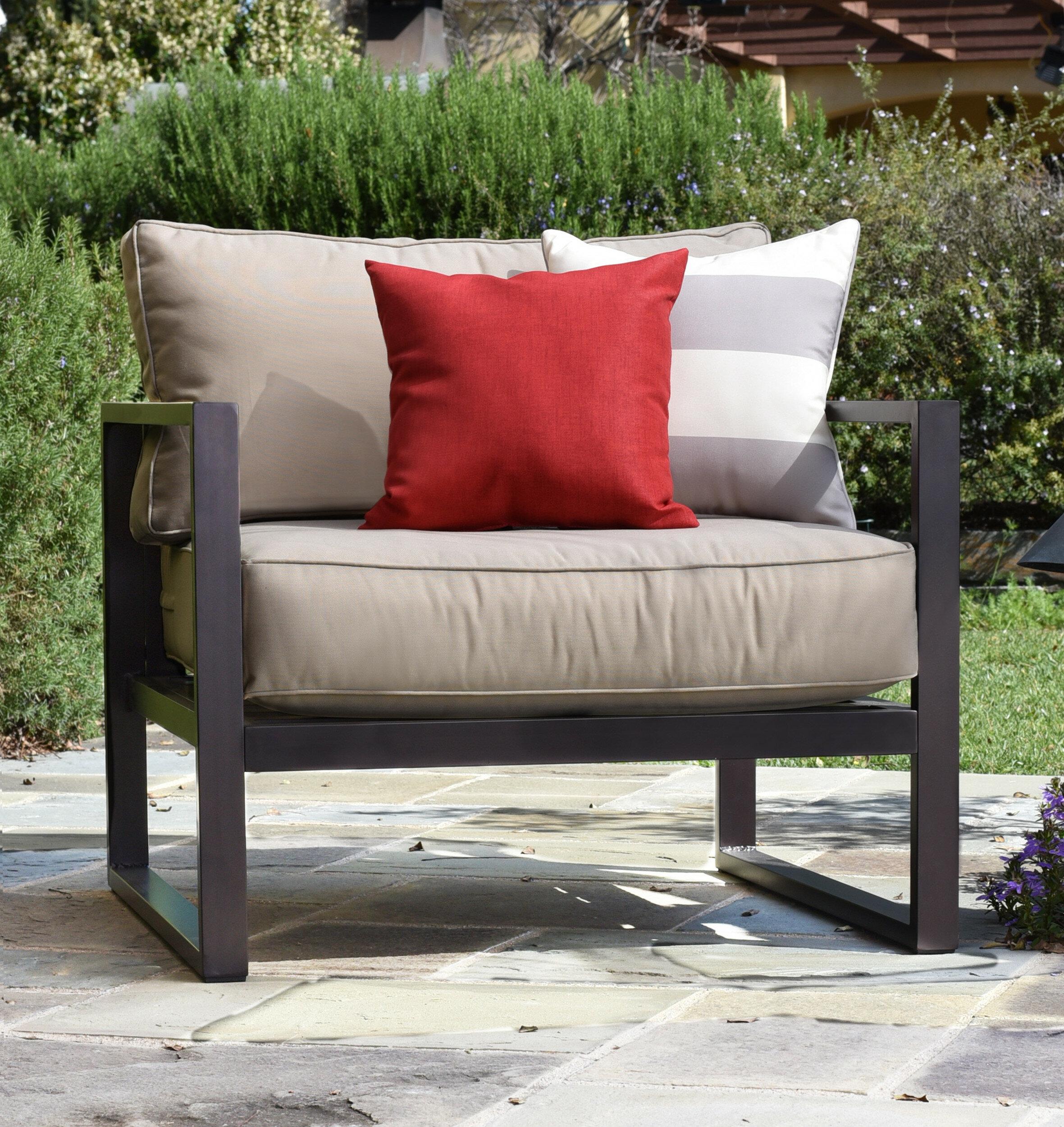 Serta At Home Catalina Outdoor Arm Chair Reviews Wayfair