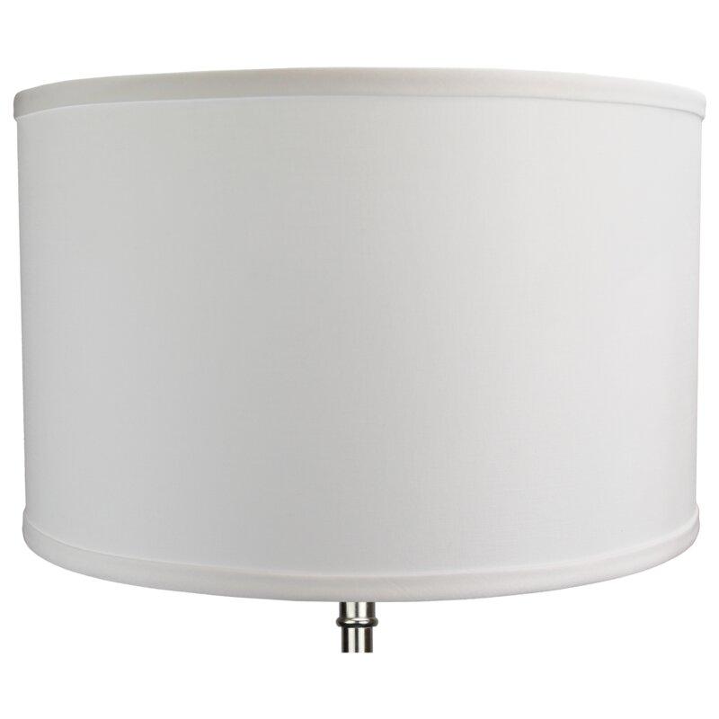 16 Linen Drum Lamp Shade Reviews Birch Lane