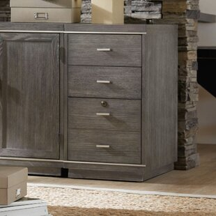 House Blend 4-Drawer Mobile Vertical Filing Cabinet