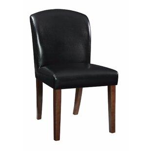 Winston Porter Hofer Genuine Leather Upho..