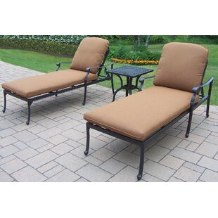 Darby Home Co Bosch 3-Piece Chaise Lounge Set
