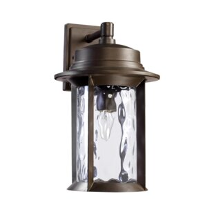 Three Posts Osmond Traditional 1-Light Outdoor Wall Lantern