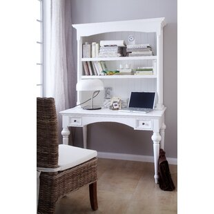 Darby Home Co Westmont Writing Desk with Hutch