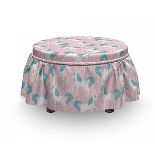 Horse Ottoman Slipcover (Set Of 2) By East Urban Home