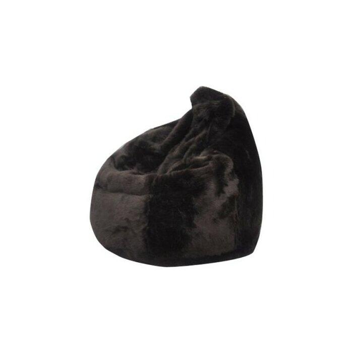 Peachy Posh Faux Fur Bean Bag Chair Evergreenethics Interior Chair Design Evergreenethicsorg