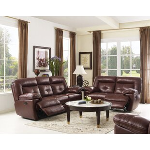 Doegolia Reclining Living Room Set Red Barrel Studio