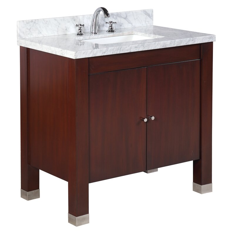 Ebern Designs Baleine 36 Single Bathroom Vanity Set Wayfair