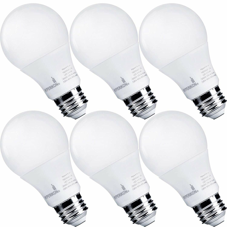 Hyperikon 60 Watt Equivalent A19 Led Non Dimmable Light Bulb E26 Medium Standard Base Reviews Wayfair
