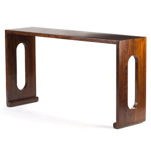 Scroll Altar Console Table By Bloomsbury Market