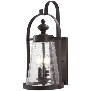 August Grove Elwell 4-Light Outdoor Wall Lantern