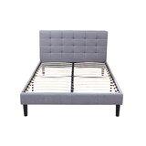 Anaelle Tufted Upholstered Platform Bed by Ebern Designs