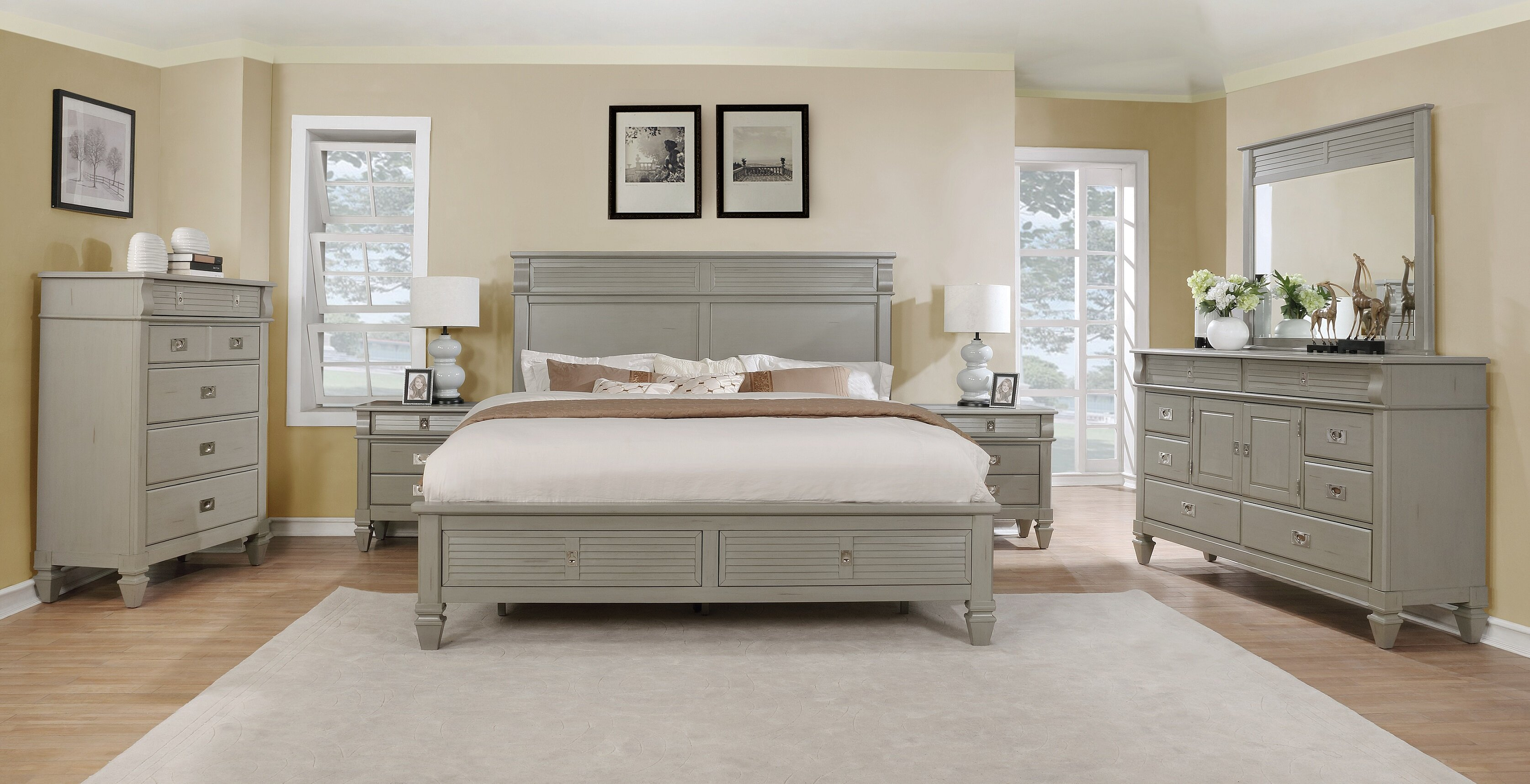 com flexsteel room bedroom bed mmfurniture by set from buy aberdeen