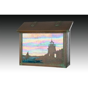 Coastal Cottage Wall Mounted Mailbox