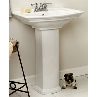 Great Price Washington 460 Pedestal sink BASIN ONLY By Barclay