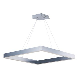 Acamar 1-Light Square/Rectangle Pendant by Orren Ellis
