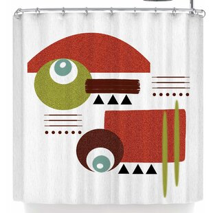 East Urban Home Li Zamperini Seguimento Shower Curtain