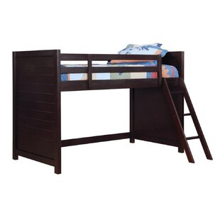 Budget Wakefield Twin Loft Bunk Bed by Harriet Bee Reviews (2019) & Buyer's Guide