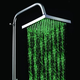 Price comparison LED Rainfall Showerhead By Sumerain International Group