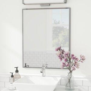 Romeo Sheen Metal Vanity Mirror