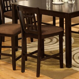 Sierra Counter Height Upholstered Dining Chair (Set of 2) Astoria Grand