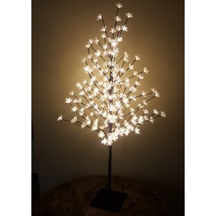 Hi-Line Gift Ltd. Outdoor 200 Warm LED Lights Cherry Blossom Tree