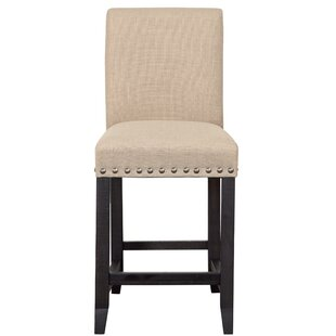 Hartlepool Wooden Counter Height Bar Stool by Gracie Oaks