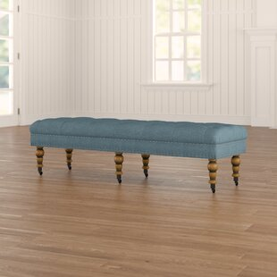 Ambrine Upholstered Bench by Lark Manor