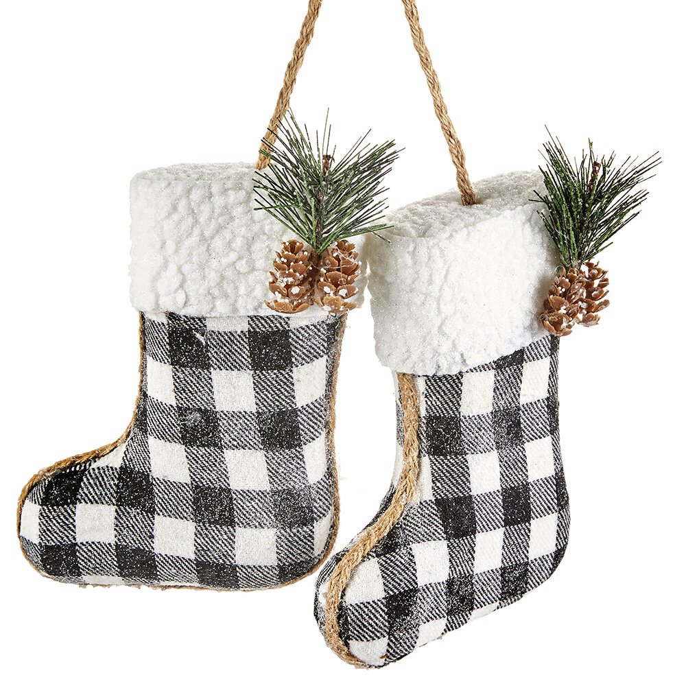 Laurel Foundry Modern Farmhouse Boot Hanging Figurine Ornament Reviews Wayfair