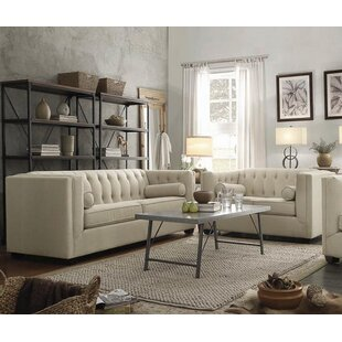 Rosdorf Park Harkness 2 Piece Living Room Set