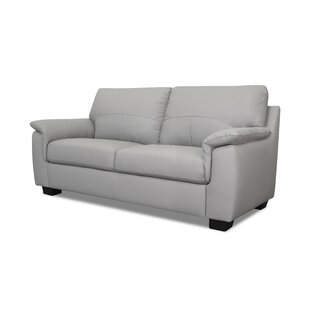 West Mersea Genuine Leather 2 Seater Sofa By Metro Lane