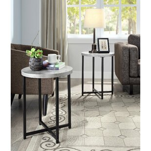 Kahl End Table (Set Of 2) By Wrought Studio