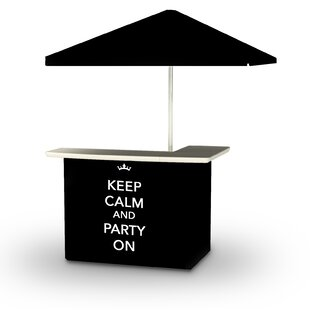 Best of Times Keep Calm and Party On Tiki Bar