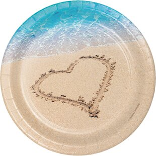 Beach Love Paper Appetizer Plate (Set Of 24) By Creative Converting