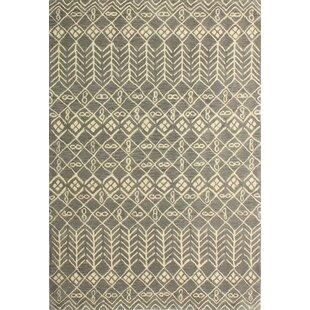 Bielecki Hand-Tufted Grey Area Rug byMercury Row