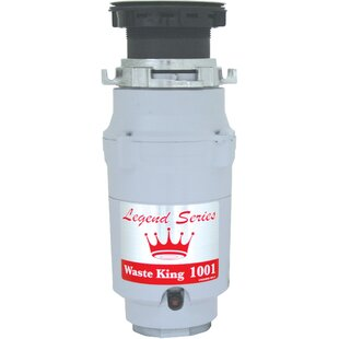 Legend Series EZ-Mount 1/2 HP Continuous Feed Garbage Disposal