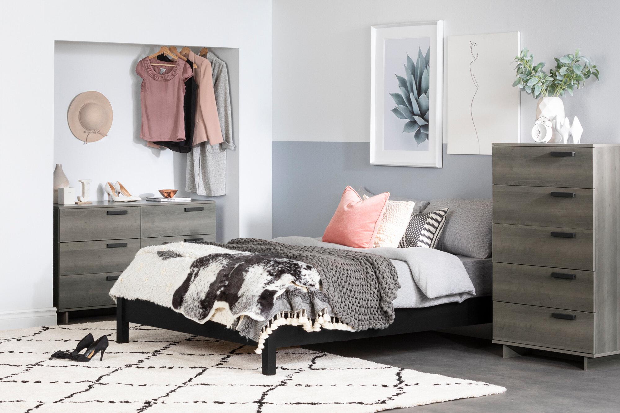 Cavalleri Platform Configurable Bedroom Set