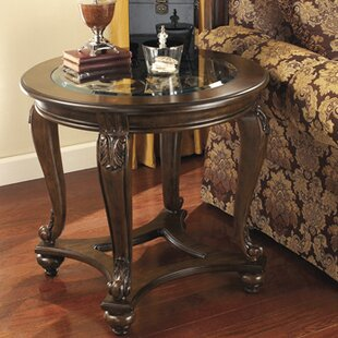 Pagedale End Table by Fleur De Lis Living Design