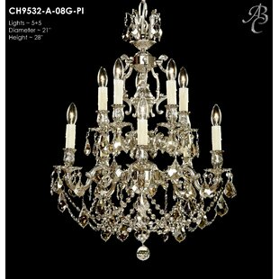 Soderberg 10-Light Candle Style Chandelier by Astoria Grand