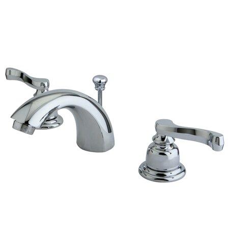 Kingston Brass Royale Double Handle Widespread Mini Bathroom Faucet - Retail bathroom fixtures