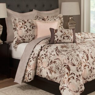 Brenna 100% Cotton Reversible Duvet Cover Set by Fleur De Lis Living Best #1