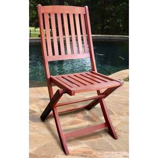 Folding Patio Dining Chair (Set of 2)