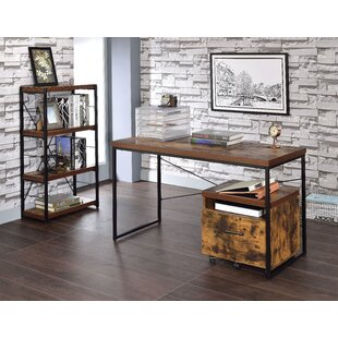Rollison 3 Piece Writing Desk Set