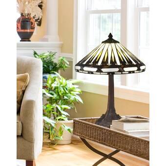 Millwood Pines Una 35 Table Lamp Wayfair